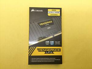 Corsair Vengeance LPX 64GB DDR4 2400MHz Kit 4x16GB CMK64GX4M4A2400C14 New