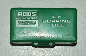 RCBS Chamfer/ Deburring Tool-(17-45 Cal)(09349)-NOS-in box-Patina