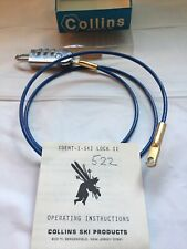 Vintage Ident•i• Ski Lock Ii By Collins Ski Products New Jersey 36 Inches Long