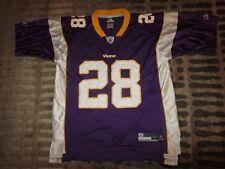 Adrian Peterson #28 Minnesota Vikings NFL Reebok Jersey LG L