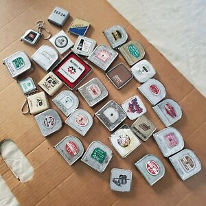Eclectic mixed Lot Of 32 small tape measures, Lufkin, Barlow, and more. {99