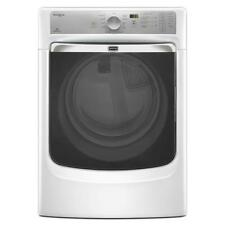 Maytag Med7100Dw Maxima Xl 7.3 cu. ft. 240 V Electric Dryer with Steam, White