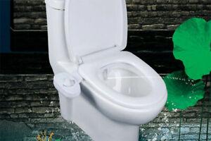 2pack Unisex Bidet Upgrade Vision Hygiene Water Wash Easy Toilet Seat Attachment