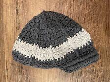 Baby Hat / Hand Knit Brim Beanie (6-9 Months)
