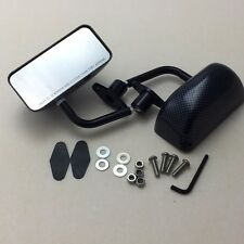 F3 racing side mirror BLACK CARBON SHEET DIPPING FOR Accord Civic S2000 NSX RSX