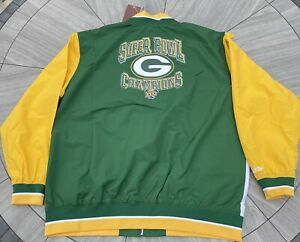 Green Bay Packers MITCHELL & NESS THROWBACK  Super Bowl XXXI Champions size 3XLB
