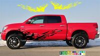 Side graphics vinyl decal MUD SPLASH stickers for Toyota TUNDRA, TACOMA, 4RUNNER