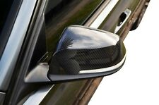 Carbon Fibre Side Rear View Mirror Garnish Cover for BMW 3 Series 2011-18