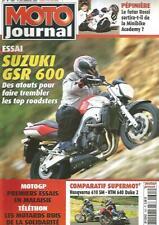 MOTO JOURNAL N°1691 SUZ GSR 600 / HUSQVARNA 610 SM - KTM 640 DUKE 2 / MINIBIKE