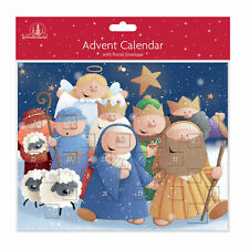 Tallon papel calendario de Adviento Navidad - 24 Ventanas-8463 Diversión Belén