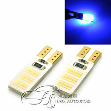 2x T10 Wedge COB LED ERROR FREE CANbus Car Sidelight Lamp Bulbs T10 W5W 501 168