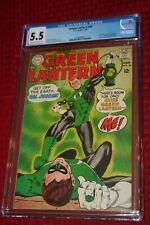 GREEN LANTERN #59 FIRST APPEARANCE OF GUY GARDNER!  DC KEY!! CGC GRADED
