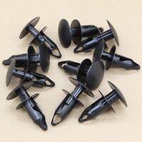 10 Pcs Black Nylon Bumper Cover Push Clip Retainer 15153415 For GM For Chevrolet