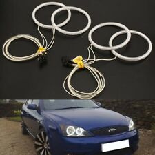 4X CCFL XENON ANGEL EYES HALO RINGS 6500K fit Ford Mondeo MK3 2000-07