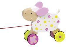 Jouet À Tirer animaux à Mouton Suse 54932 Goki NEUF - en bois à