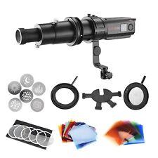 30W Luz LED Luz equilibrado Enfocable Kit Completo modificadores de proyección