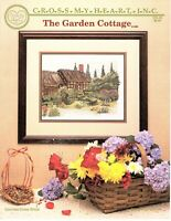 "Cross My Heart Inc ""The Garden Cottage"" Counted Cross Stitch Pattern Large Print"