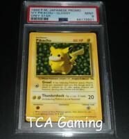 PSA 9 MINT Pikachu GREY STAR WOTC Black Star Promo VARIANT Pokemon Card