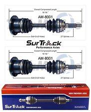 2 Front CV Axle Shaft Assy SurTrack Set for American Motors Eagle 80-88 4WD