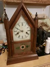 Antique Gilbert Clock Steeple Gothic
