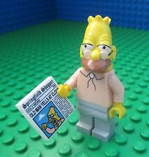 Lego 71005 The Simpsons Grandpa Simpson Newspaper Minifig Minifigure