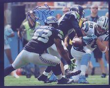 Seahawk Malcolm Smith Super Bowl MVP vs Panthers 8x10 Autograph B