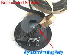 1PCS 1m Speaker Foam Seal Gasket Tape Strip Speaker EVA Sealing Strip 10x1mm
