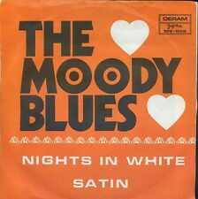 7inch THE MOODY BLUES nights in white satin YUGOSLAVIA 1972 EX DERAM +PS