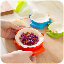 5 X Dumpling Mould Dough Press DIY Meat PIE Pastry Maker Tool Samosa Empanada