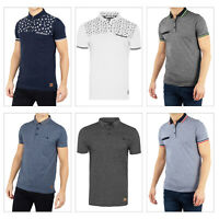 Brave Soul Mens Designer Elias Aspect Or Aurelius Casual Summer Polo T Shirts