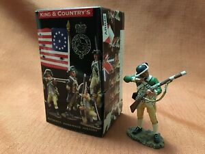 King & Country's 1776 - American Standing Loading Corporal Figure - AR46 - w/Box