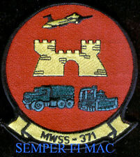 AUTHENTIC MWSS-371 US Marine Wing Support Squadron PATCH 4 ACES 3d MAW MCAS