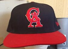 New Era California Angels 59Fifty Baseball Cap Hat 7 3/4 Size 100% Wool