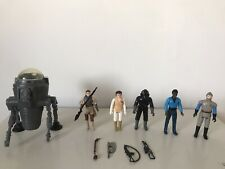 LOT FIGURINES STAR WARS VINTAGE ANNÉE 70 80 100% ORIGINAL ! KENNER ROTJ