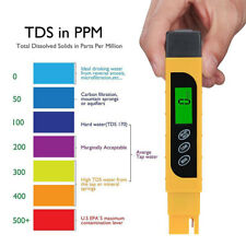 TDS Water Quality Tester Range 0-9999ppm Meter for Testing Water Purity Monitor