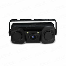 3-in-1 LCD Car SUV Reverse Parking Radar Sensor LED Car Rear View Backup Camera