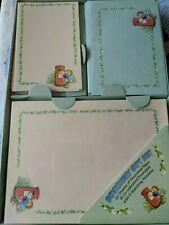 Vintage Hedgehog Stationery Set, Paper, Notelets and Envelopes, Hedgehog NOS