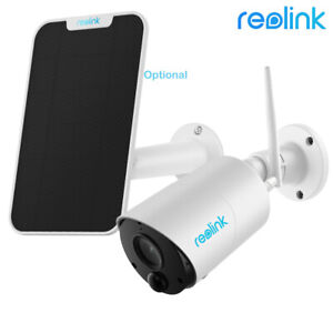 Reolink 1080P Outdoor Wireless Security Camera Battery/Solar Powered Argus Eco