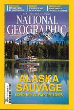 NATIONAL GEOGRAPHIC N°197 FEVRIER 2016  LOUPS EN ALASKA/ GOUT ALIMENTS/ LONDRES