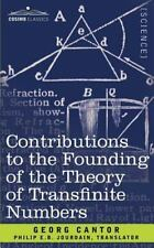 Contributions to the Founding of the Theory of Transfinite Numbers (Paperback or