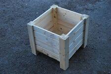 Medium s en bois pot 35x35x30 cm bois massif épicéa pour DECOUPIS