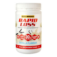 Rapid Loss Shake Vanilla Meal Replacement Weight Loss