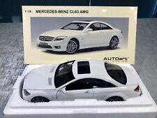 1:18 Mercedes-Benz CL63 AMG (White) AUTOart Millennium BNIB