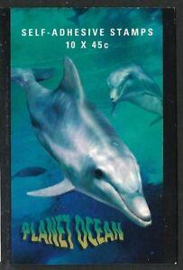 1998 Australia - Planet Ocean  Booklet 10 x 45c