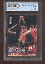 Michael Jordan 1995-96 UD Collectors Choice #324 Chicago Bulls GEM MINT 10