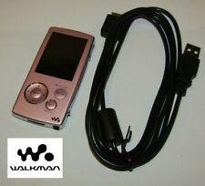 SONY WALKMAN Digital Media Player NWZ-A816 4GB Pink & Chrome. *738 Songs*