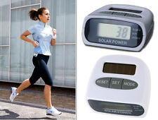 Solar Pedometer Step Count, Distance Count & Calorie Count