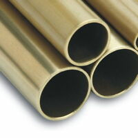 "1 1/4"" Approx 32mm Dia Brass Tube choose Length"