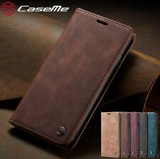 iPhone 12 11 Pro MAX XS 6 7 8 SE Leder Tasche Flip Case Wallet Handy Hülle Etui