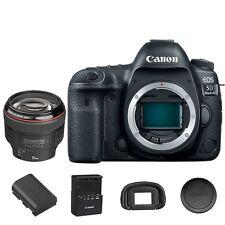 Canon 5D Mark IV DSLR Camera Body with EF 85mm f/1.2L II USM Lens